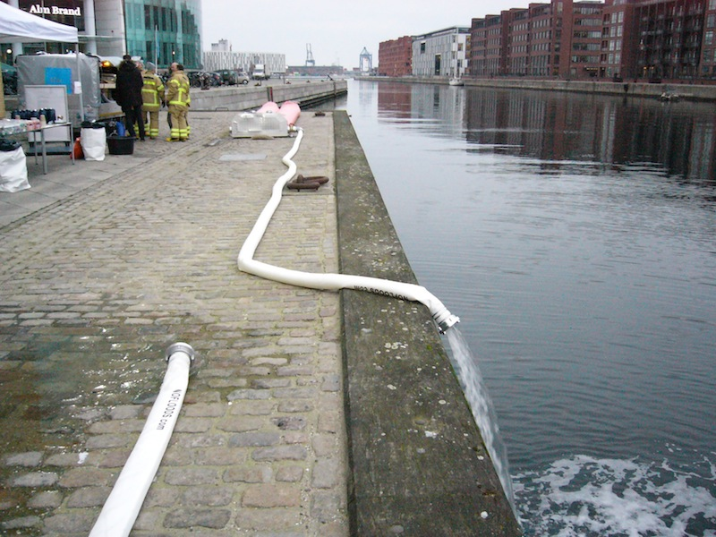 Søpølse skal sikre mod oversvømmelse