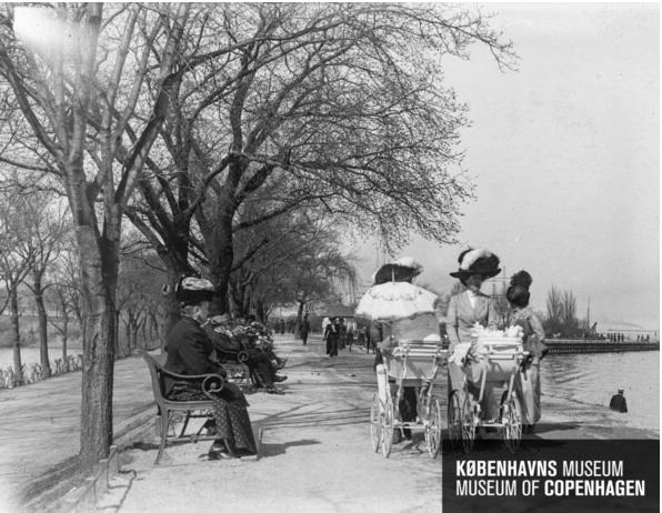 Gamle fotos fra Langelinie på nettet