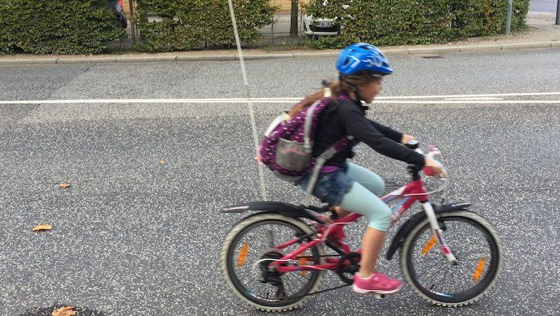 Cykelsti på Indiakaj