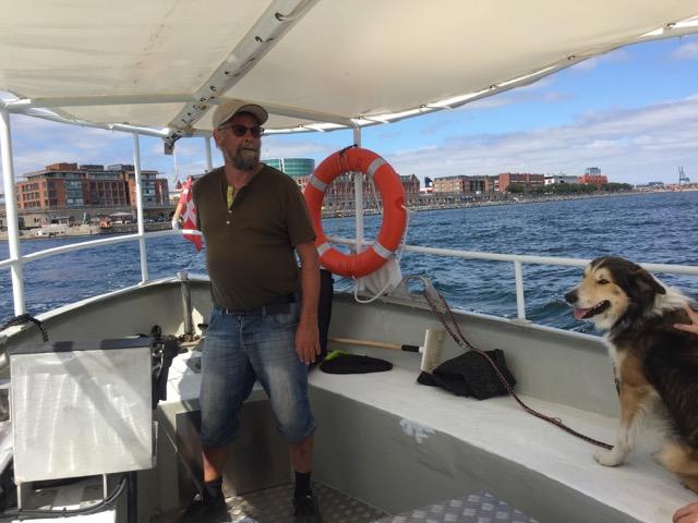 Ny rutebåd på tværs af havnen