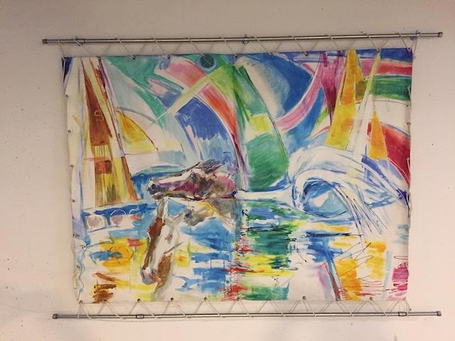 Moderne kunst i P-kælderen