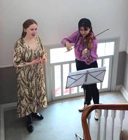 Koncert i opgangene